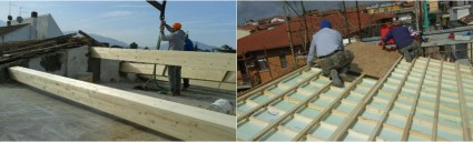 Manutenzione straordinaria copertura fabbricato nel comune di Gavorrano