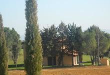 Realizzazione di giardino a servizio di casale di campagna ditta edile Grossetana