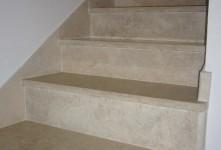 Realizzazione di rivestimenti in marmo e granito per scale Ditta costruzioni Grosseto