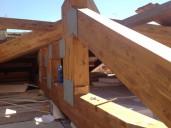 Realizzazione di nuova copertura in edificio residenziale a Grosseto